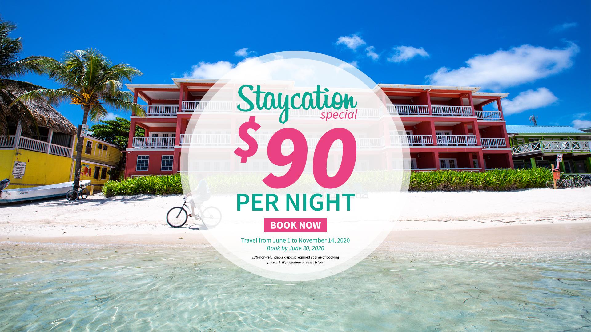 Staycation Special - Mayan Princess Hotel, Belize