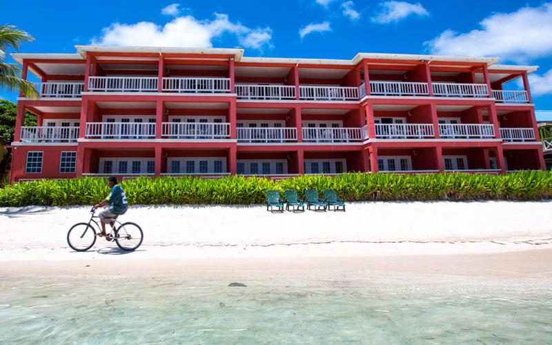 Beach Chairs - Mayan Princess Hotel, Belize